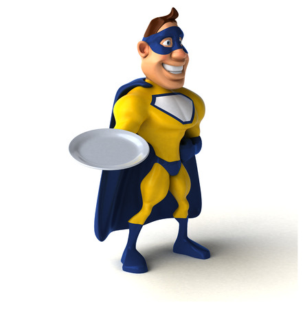 intermittent: Fun superhero