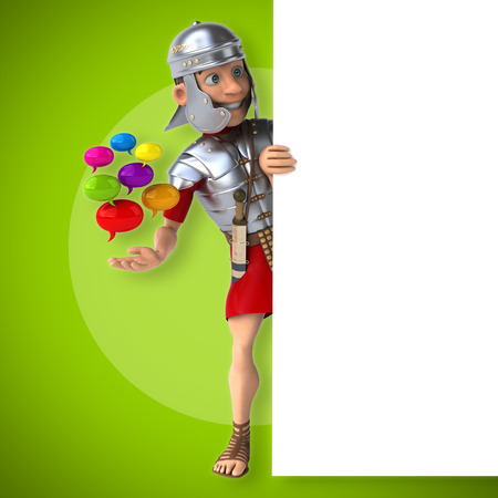social history: Roman soldier