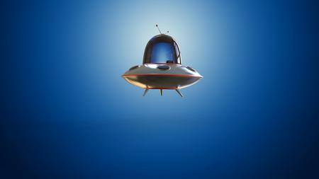 space invader: Flying saucer