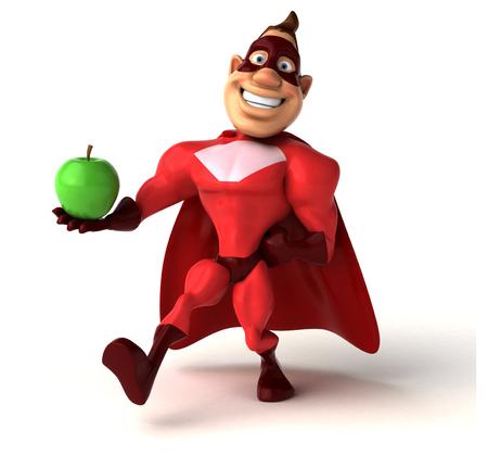 tough man: Fun superhero