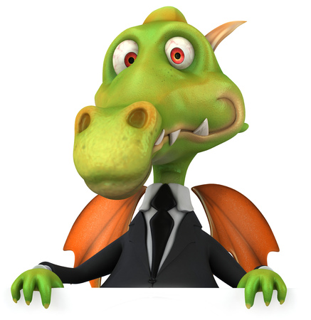 Dragon in a business suit