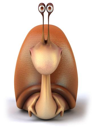 retractable: Happy snail