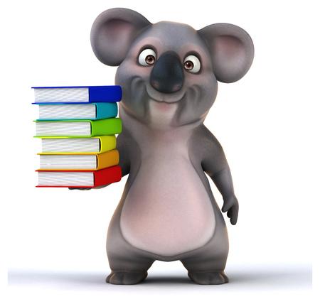 curious: Fun koala Stock Photo
