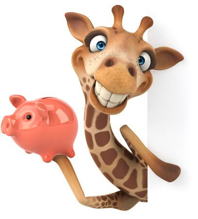 Leuke giraffe