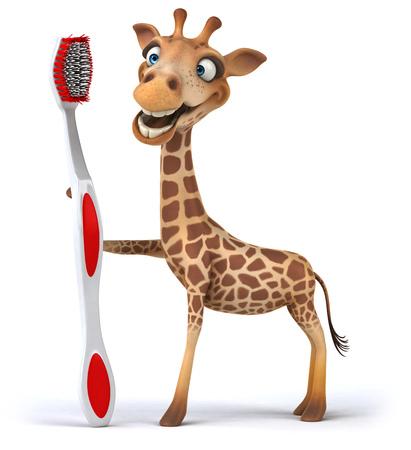 masai: Fun giraffe