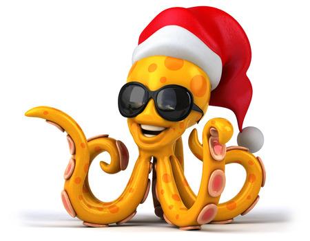 mediteranean: Fun octopus