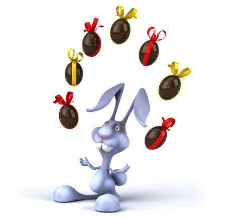 pug nose: Fun rabbit