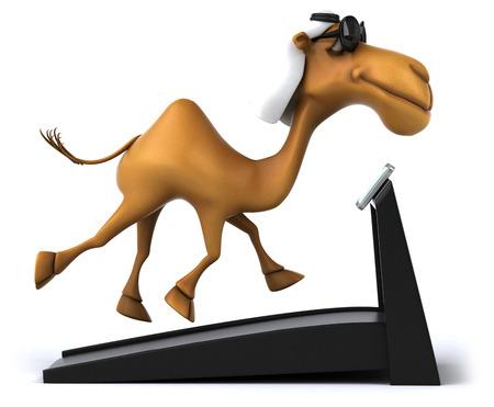 running camel: Fun camel
