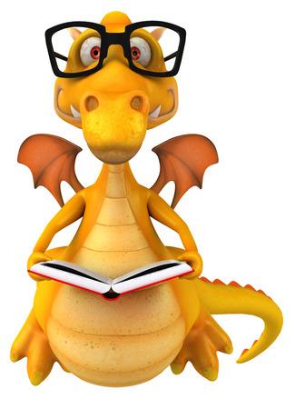 cute graphic: Fun dragon