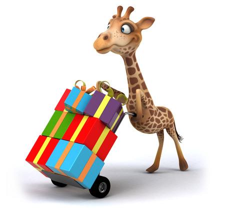 occult: Fun giraffe