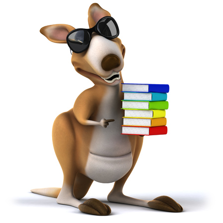 aussie: Kangaroo Stock Photo