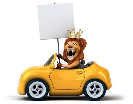 aerodynamic: Fun lion