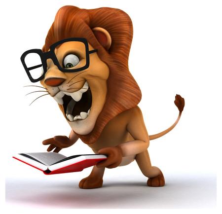 3d lion: Fun lion