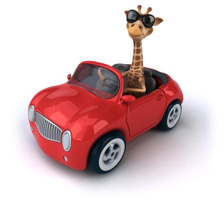 aerodynamic: Fun giraffe