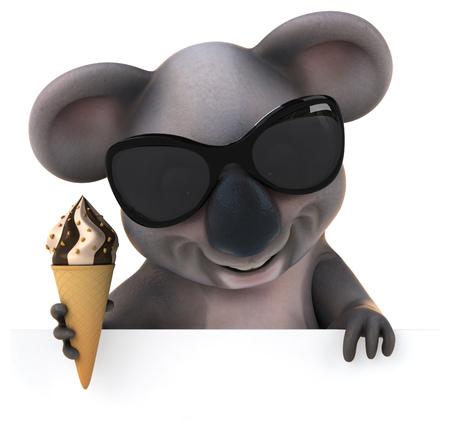 Fun koala Stock Photo