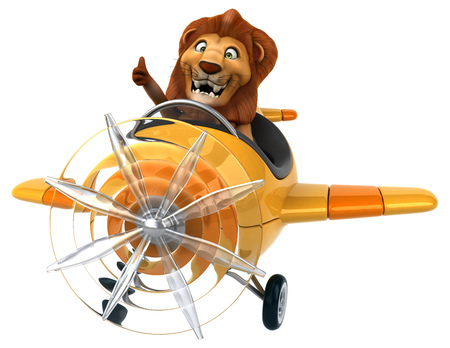 studio zoo: Fun lion