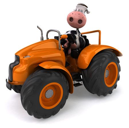 pastoral: Fun cow
