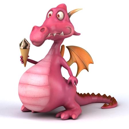 fire and ice: Fun dragon
