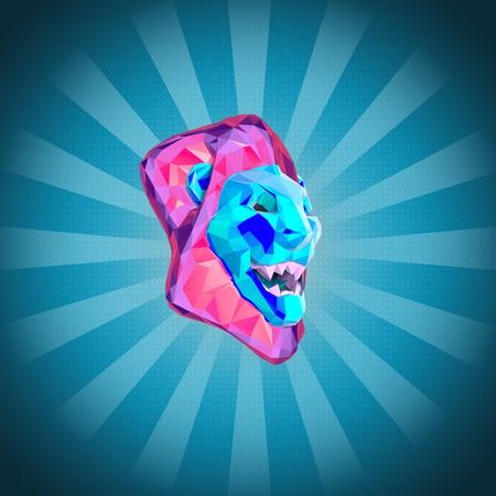 3d lion: Lion Stock Photo