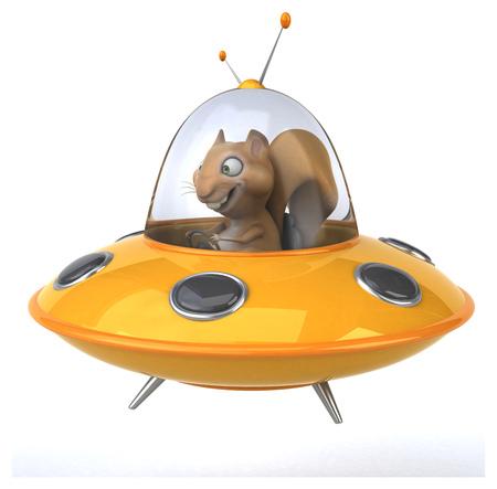 invasion: Fun squirrel