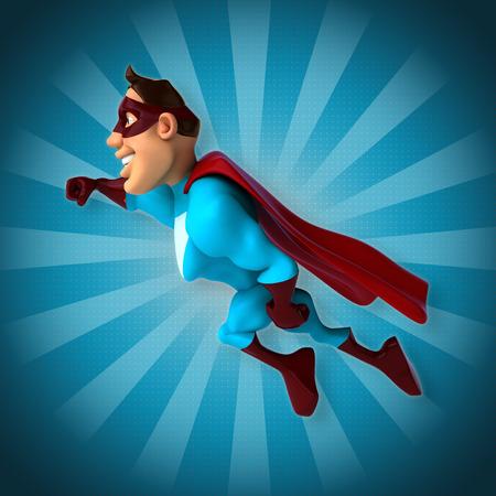macho: Superhero Stock Photo