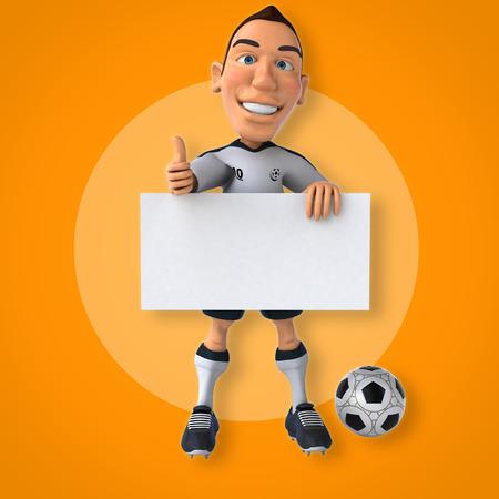 soccer: Soccer player Stock Photo