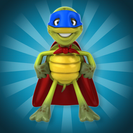 wildlife conservation: Super turtle Stock Photo