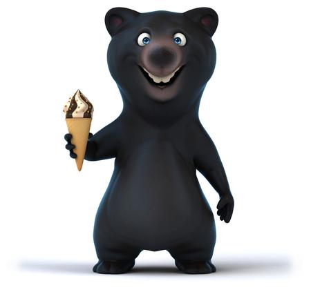 Fun bear Stock Photo