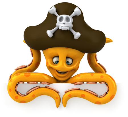 ahoy: Octopus pirate