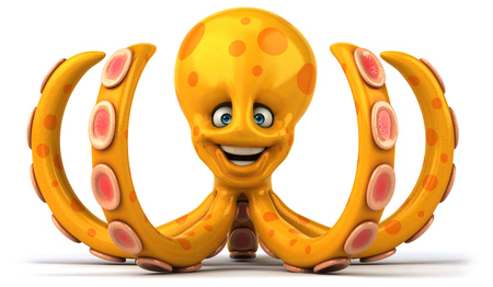 calmar: Fun octopus