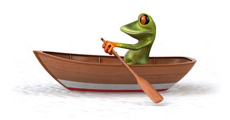 seaman: Fun frog