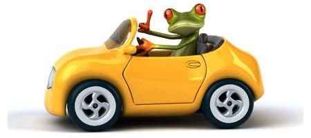windscreen: Fun frog