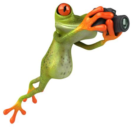 artistic photography: Fun frog