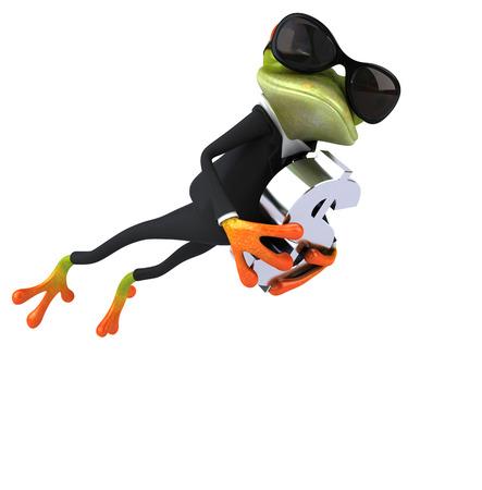 jungle jumping: Fun frog