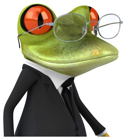 eye glasses: Fun frog