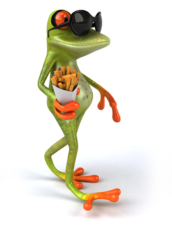 New frog