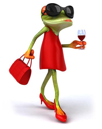 animal sexy: Fun frog