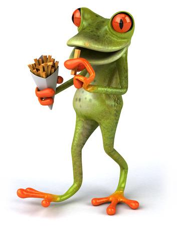 fas: Fun frog