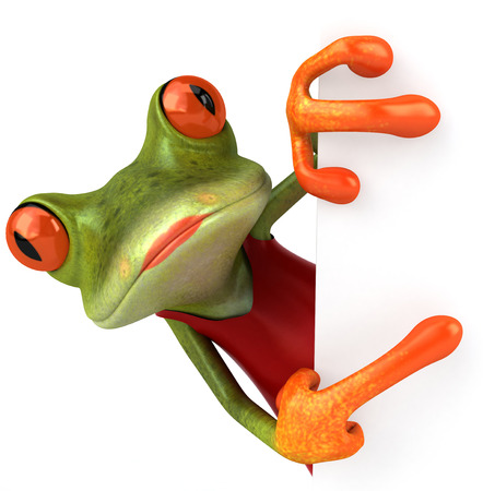 animal sexy: Sexy frog Stock Photo