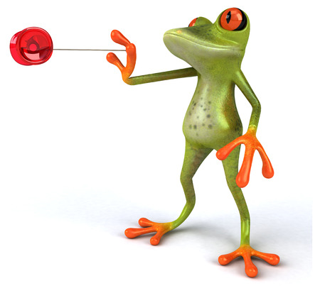yoyo: Fun frog