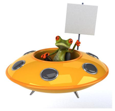 visitor: Fun frog