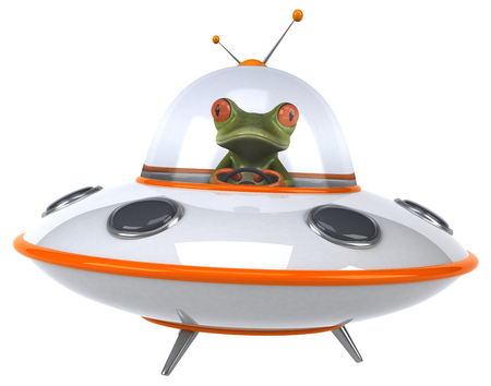 invader: Fun frog