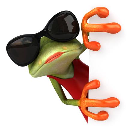 seduce: Sexy frog Stock Photo