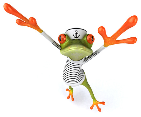 Frun frog Stock Photo