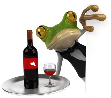 europe closeup: Fun frog