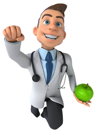 Fun doctor Reklamní fotografie