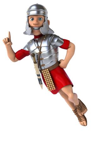 legionary: Roman legionary soldier Stock Photo