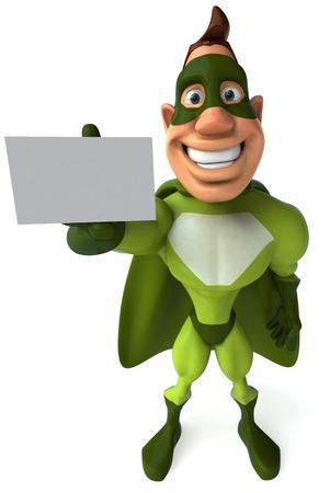 masked: Superhero Stock Photo