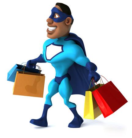 Superhero Stock Photo