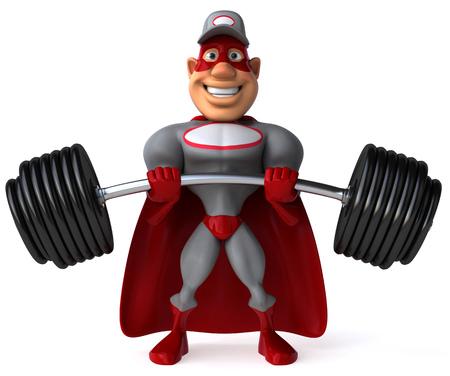 Super mechanic Stock Photo